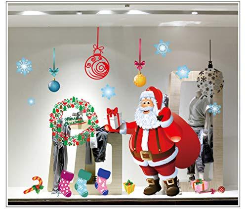 TMEOG 4 Sheets Navidad Papá Noel áRbol De Navidad