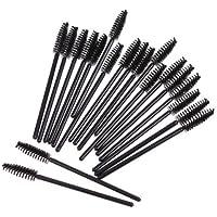 100pcs desechables de pestañas maquillaje cepillos Mascara Aplicador Varita Brush