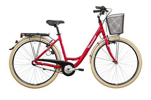 Vermont Rosedale - Vélo de ville - 3 vitesses rouge 2016 velo ville femme