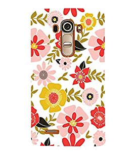 Fabcase floral computer generated abstract creative art form Designer Back Case Cover for LG G4 :: LG G4 Dual LTE :: LG G4 H818P H818N :: LG G4 H815 H815TR H815T H815P H812 H810 H811 LS991 VS986 US991