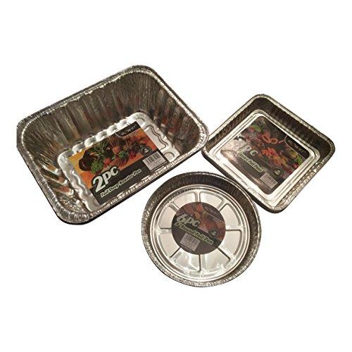 foil-pie-dishes-foil-trays-foil-containers-disposable-aluminium-baking-and-roasting-pans-bundle-disp