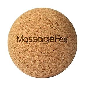 Fumassagegert Faszienball Massageball Aus Kork Selbstmassage Von Triggerpunkten Faszien Der Fe Waden Ges Nacken Schulter Rcken