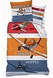 Set Bettwäsche PLANES Chupacabra Dusty Skipper 160x200cm 100% Baumwolle Disney Original