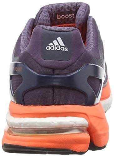 adidas Adistar Boost, Scarpe da Corsa Donna (Multicolor (Ash Purple/White/Solar Orange))