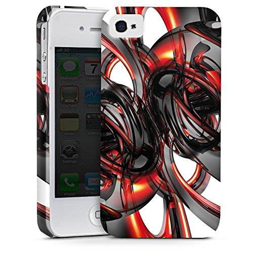 Apple iPhone X Silikon Hülle Case Schutzhülle Strudel Lack Glanz Premium Case glänzend