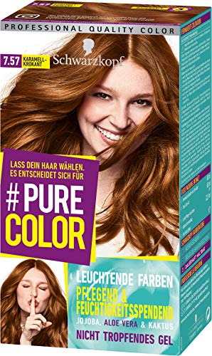 Schwarzkopf Pure Color Coloration 7.57 Karamell-Krokant, 1er Pack (1 x 143 ml)
