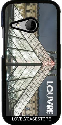funda-para-htc-one-mini-2-museo-louvre-paris-capitale-francia-triangle-art-jardin-tuilleries