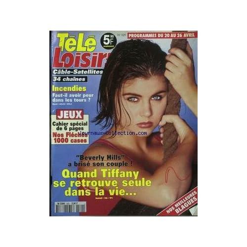 TELE LOISIRS [No 529] du 15/05/1996 - TIFFANY - NOS BLAGUES - INCENDIES.