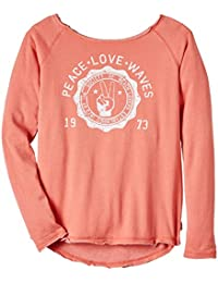 Billabong Wild And Fun Sweat-shirt Fille Off