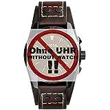Fossil Uhrband Wechselarmband LB-CH2990 Original Ersatzband CH 2990 Uhrenarmband Leder