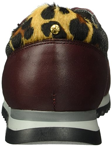 BRAX - Ravenna Sneaker, Scarpe da ginnastica Donna Rosso (Rot (vino combi))