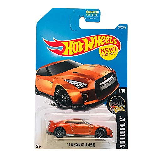Hot Wheels '17 Nissan GT-R Nightburnerz 282/365