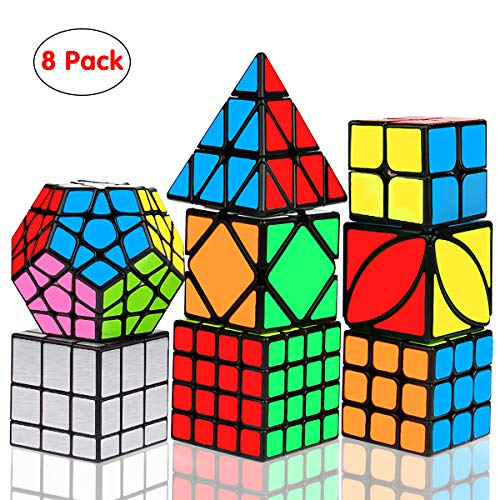 Aiduy Cubo Mágico Speed Cube Set Smooth Magic Cube
