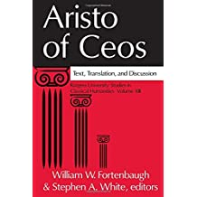 Aristo of Ceos: Text, Translation, and Discussion