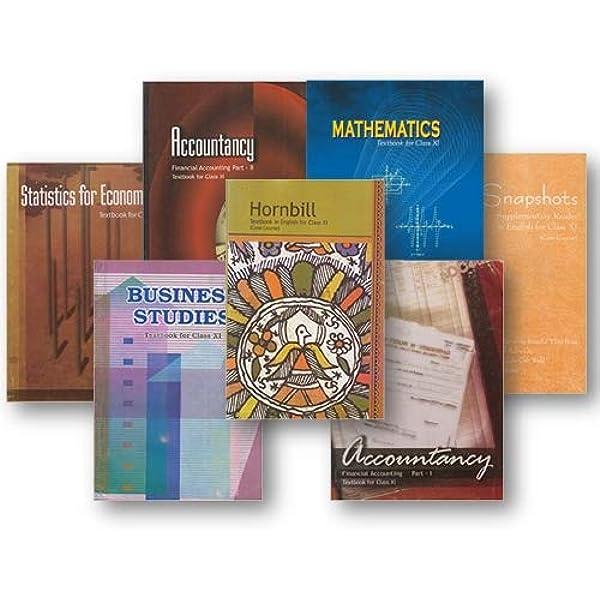 NCERT Class 11 Commerce Bundle : NCERT: Amazon.in: Books