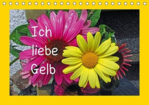 Ich liebe Gelb (Tischkalender 2019 DIN A5 quer): Blumen, Blätter, Bäume in gelb (Monatskalender, 14 Seiten ) (CALVENDO Natur)