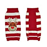 LucyGod Dog Jumpers Christmas Sweaters Outfits Costumes Hoodies Winter Xmas Pet Clothes Shirts Coats Jackets (L, Reindeer)