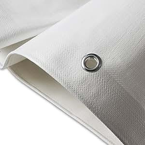 telone occhiellato casa pura impermeabile e multiuso bianco 4x6m 180g m. Black Bedroom Furniture Sets. Home Design Ideas
