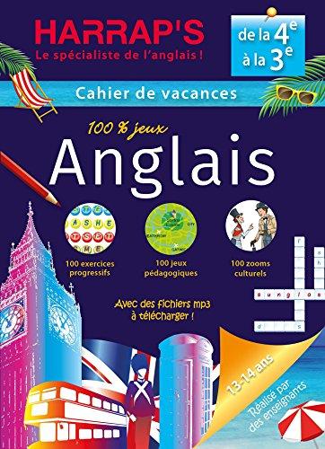 Harrap's cahier de vacances Anglais 4ème/3ème par Rozenn Etienne