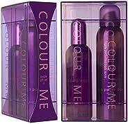 Milton Lloyd Colour Me - Purple 100ml + 150ml Eau de Parfum/Perfume Mist