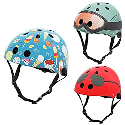 Miss-an Children Helmet,Cycle Helmet Kids Safety Helmet Child Road Bike Cycling Helmet with Adjustable Straps for Boys and Girls by Miss-an