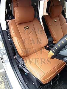 Toyota Picnic housses de siège auto YMDX 07 Housse de volant en PVC SW 8 M Motorsports Rossini en similicuir Marron