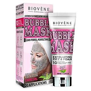 Biovene Bubble Mask, feuchtigkeitsspendende und nährende Gesichtsmaske, entfernt Schmutz und reinigt Poren, 100ml