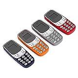 VIDOELETTRONICA Mini Telefono Bluetooth Micro Dual Sim Cellulare Tascabile Chiamate Gsm Sms Mp3 COLORE CASUALE