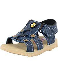 ESSENCE Baby Boys' Blue And Beige Floaters