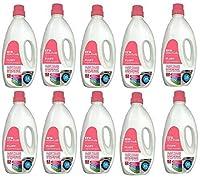 ekta home appliances IFB Fluff Liquid Detergent for Front Load Washing Machine - Pack of 10 with 1 Detergent free