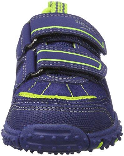 Superfit Jungen Sport4 Sneaker Blau (nautic KOMBI)