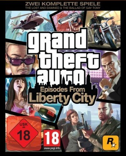 Grand Theft Auto 4 Episodes from Liberty City