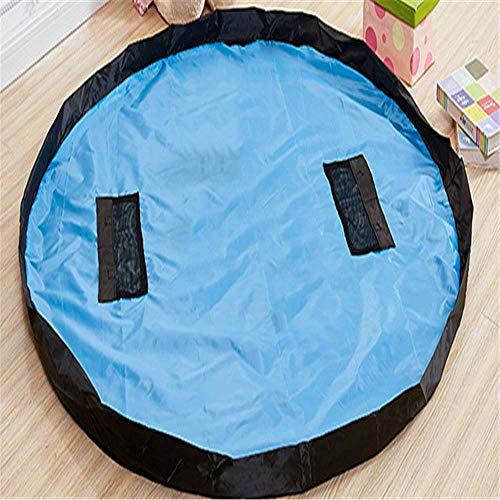 QWEASDZX Giocattolo Fast Storage Bag Portatile Trave di Mattoni Finitura Tappetino Giocattolo B 100X100cm