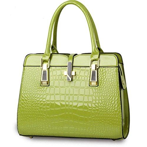 Borsa della borsa del hobo del cuoio del Faux della borsa della borsa della borsa della borsa delle donne verde
