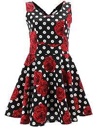 Shikha London Kleid ROSES & POLKA DOTS DRESS 4669