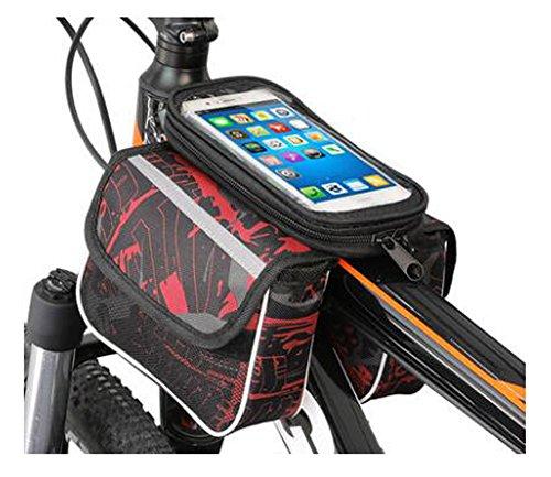 Bike Bag Bunte Fahrrad Lenker Pakete für 6 Zoll Telefon Multi-Funktions-Fahrrad-Zubehör#3