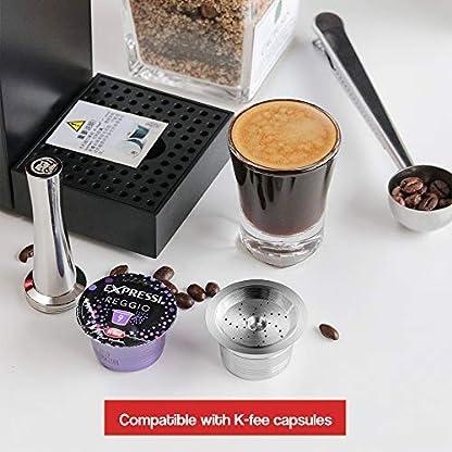 Konesky-Kaffeekapseln-Rostfreier-Stahl-K-Fee-Kaffeemaschine-Wiederverwendbarer-Fetter-Kaffeepad-Filtersatz-mit-Plastiklffel-Reinigungsbrste