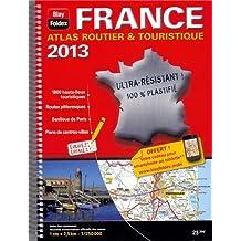 Atlas routier et touristique plastifié France : 1/250 000