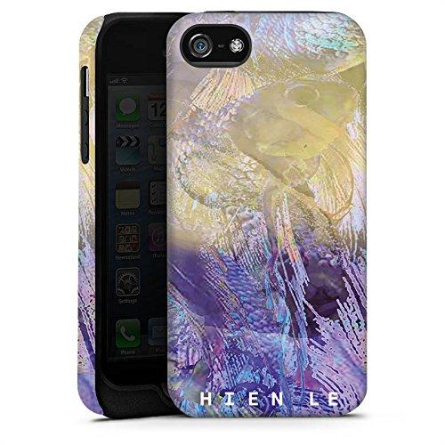 Apple iPhone 5s Housse Étui Protection Coque HIEN LE Poisson rouge Design Cas Tough terne
