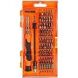 Destornillador magnético, iAmer 58-in-1con 54puntas magnético conductor Kit, Kit de herramientas de reparación de electrónica para Xbox/teléfono cel