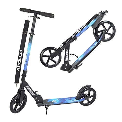 Apollo XXL Wheel Scooter - Phantom Pro City Scooter, Klappbarer City-Roller, on