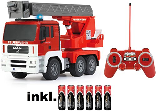 rc man lkw feuerwehr auto ferngesteuert rc auto kaufen. Black Bedroom Furniture Sets. Home Design Ideas