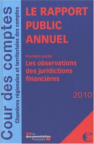 Le rapport public annuel : Pack en 3 volumes par Cour des comptes