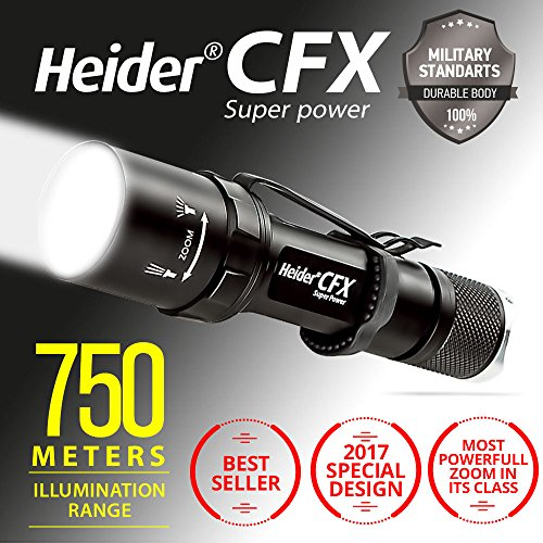 heider-cfx-super-power-lampe-de-poche-rechargeable-cree-led-de-nouvelle-generation-impermeable-piece