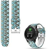 iFeeker Weiches Silikon Schnellinstallation Armbanduhr Gurt für Garmin Fenix 5/Garmin Approach S60 und Forerunner 935 Laufende GPS Uhr