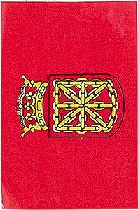 Verbetena - Bandera plástico Navarra, 20x30 cm, bolsa 5x10 metros (011200074)