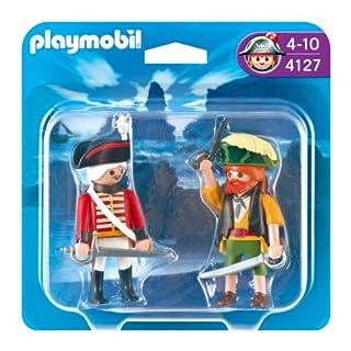 Playmobil - Pack de 2 Figuras Pirata y Soldado (4127) (B004GYVMSA)   Amazon price tracker / tracking, Amazon price history charts, Amazon price watches, Amazon price drop alerts