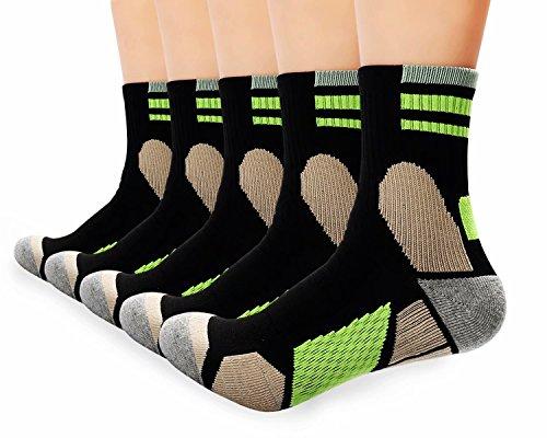 Antibakterielle Nachtsocken für Männer und Frauen Kissen Athletische Socken Performance Wandern / Camping / Outdoor Aktivitäten - Frauen Athletische Socken