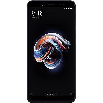"Xiaomi Redmi Note 5 - Smartphone de 5.9"" (Octa-Core 1.8 GHz, RAM de 4 GB, Memoria de 64 GB, Cámara DE 12+5 MP, Android 8.0) Negro"
