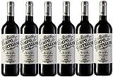 Campo Cortijano Vino Rioja - 6 Paquetes x 750 ml - Total: 4500 ml